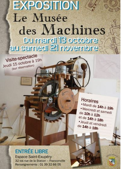 Expo : LE MUSEE DES MACHINES