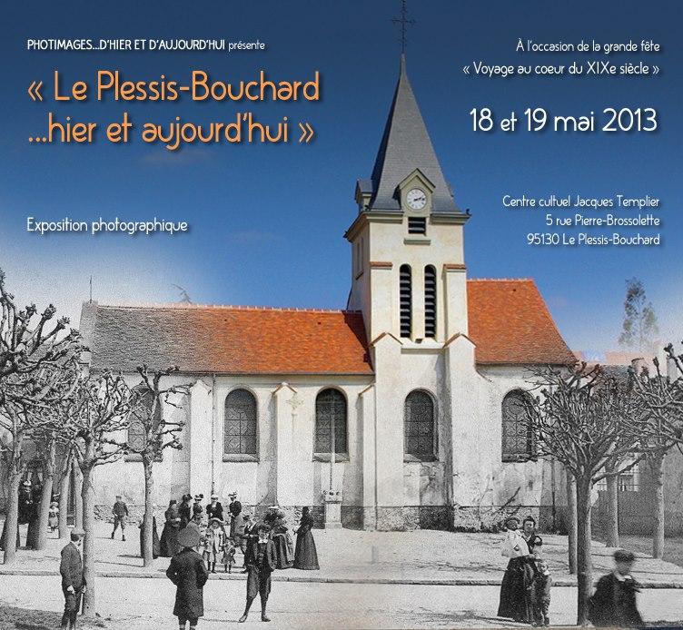 Exposition LE PLESSIS BPOUCAHRD HIER ET AUJOURDHUI