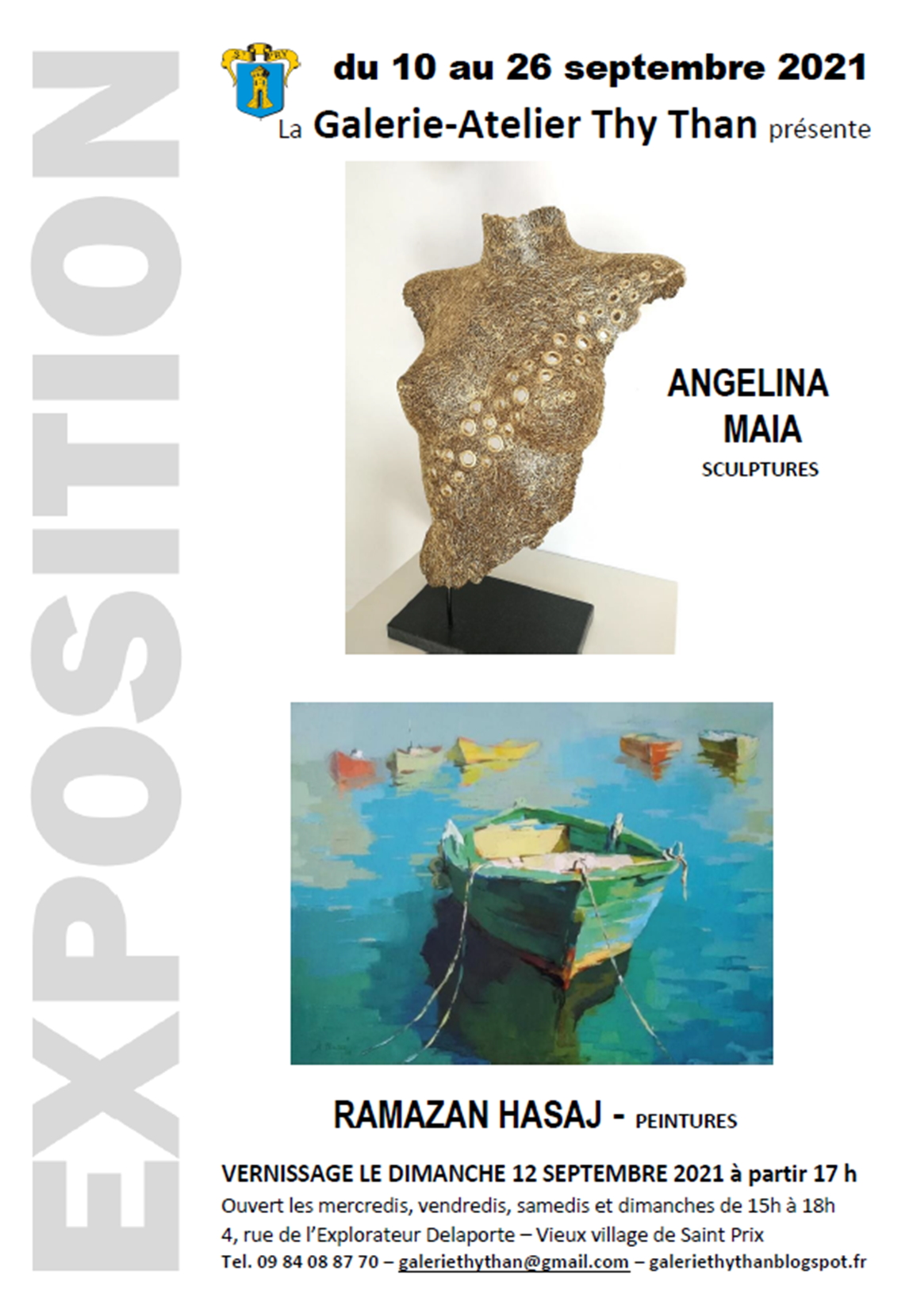 Exposition de Angelina Maia et Ramazan Hasaj