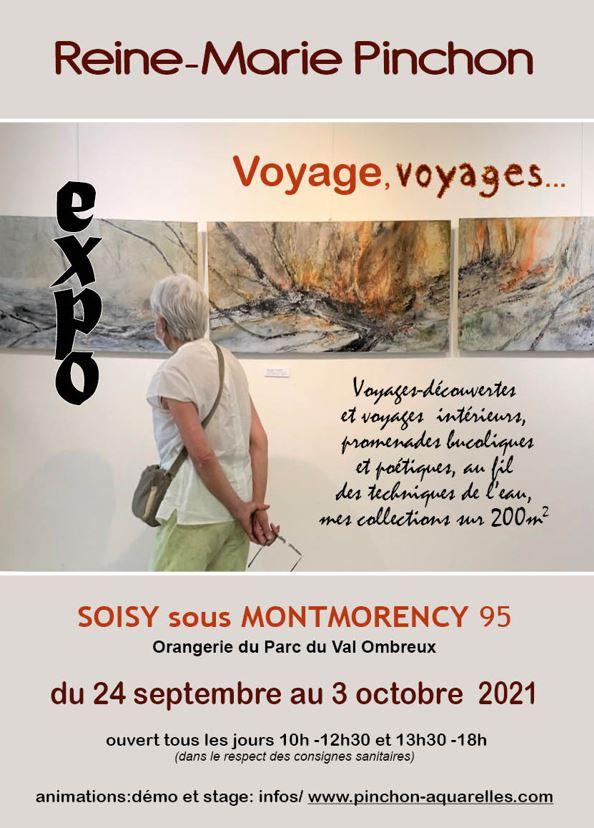 Exposition de Reine-Marie Pinchon
