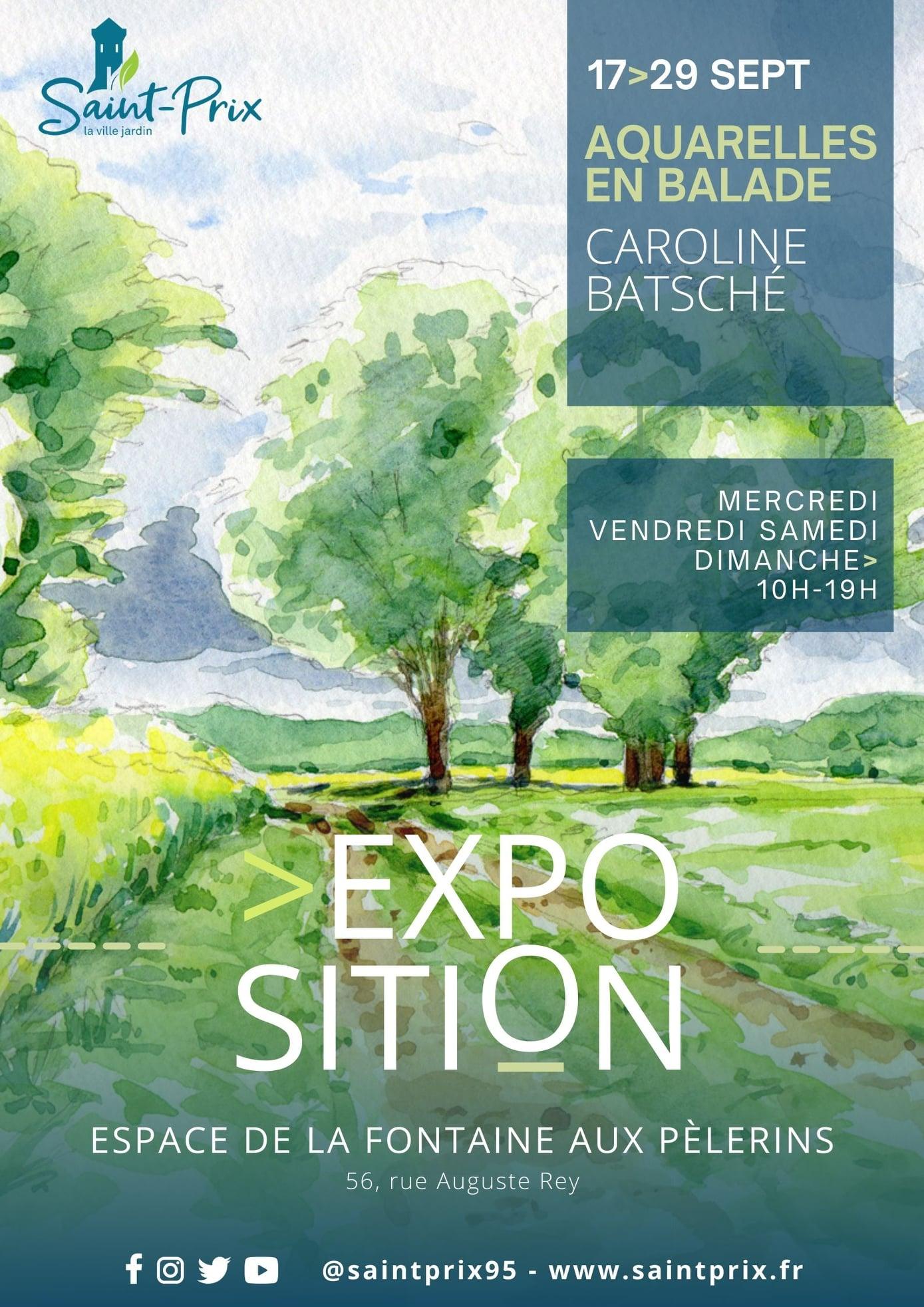 Exposition de Caroline Batsché