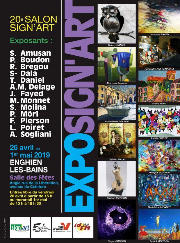 Exposition SIGN'ART 2019