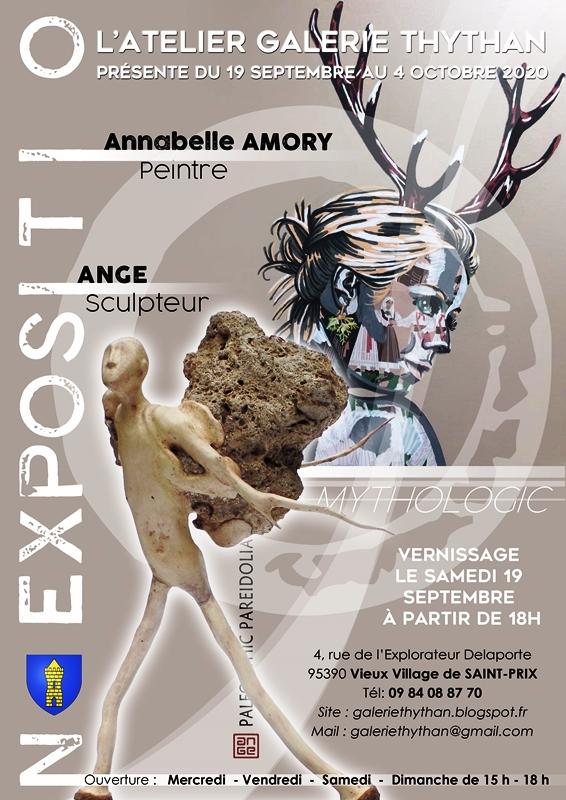 Exposition de Annabelle Amory et Ange