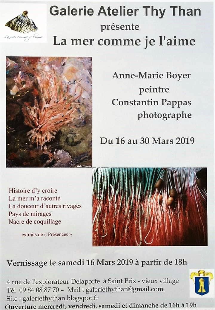 Exposition LA MER COMME JE L'AIME