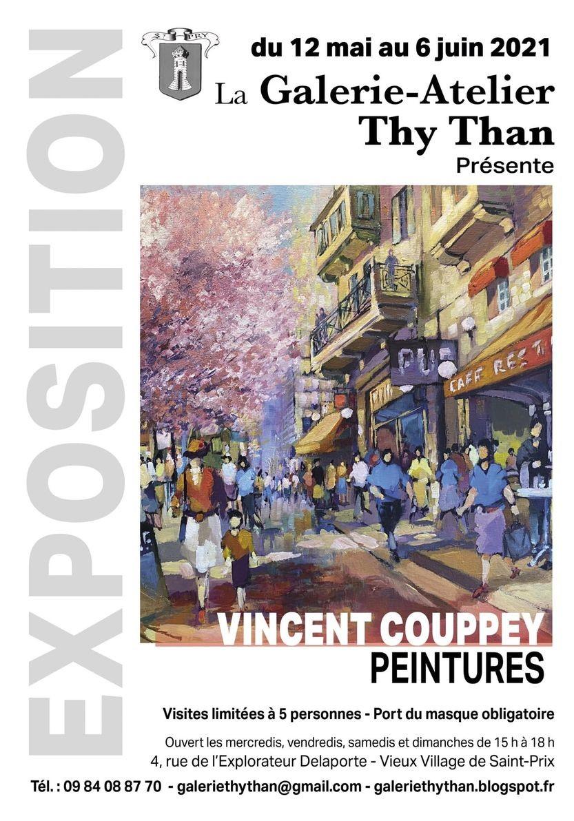 Exposition de Vincent Couppey