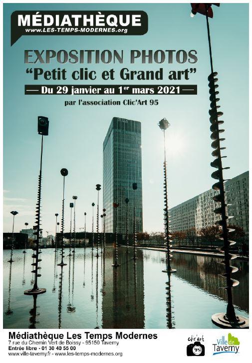 Exposition photos : Petit clic et Grand art