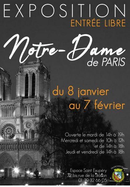 Exposition NOTRE DAME DE PARIS