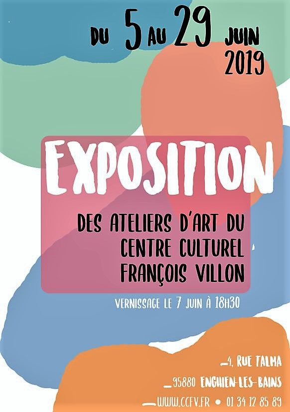 Exposition ateliers art ccfc - 2019