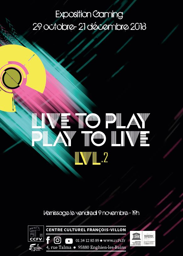 Exposition Gaming LIVE TO PLAY PLAY TO LIVE