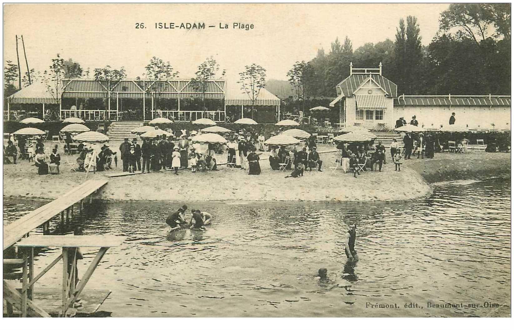 La Plage à l'Isle Adam