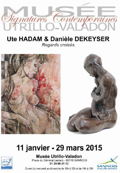 exposition Daniele DEKEYSER - Ute HADAM