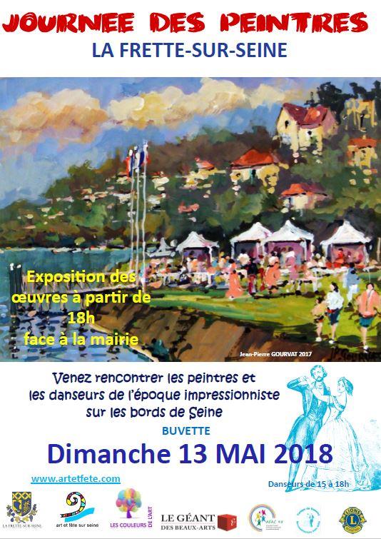 Journée des peintres à la Frette-sur-Seine
