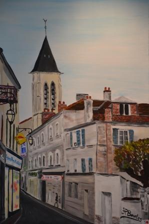 peinture de Jean-Paul Bourles