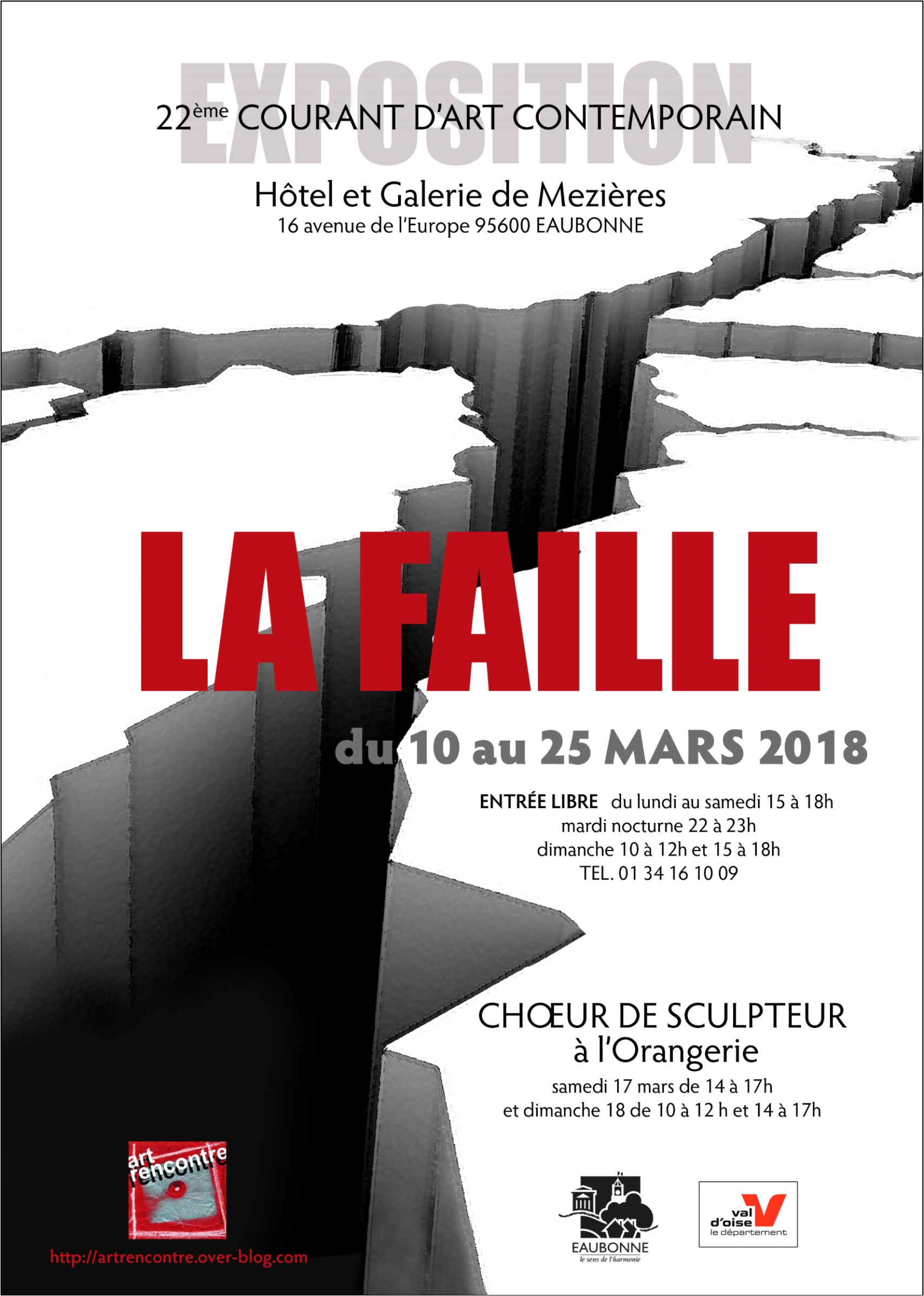 Exposition LA FAILLE à Eaubonne