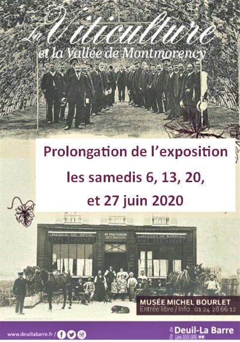 Exposition LA VITICULTURE ET LA VALLEE DE MONTMORENCY