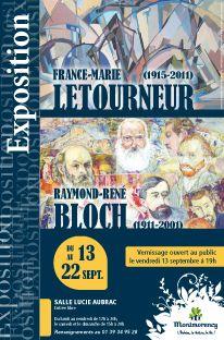 Exposition MF Letourneur et Raymond René Bloch