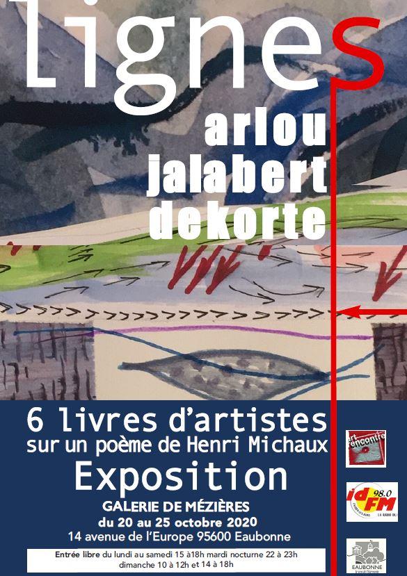 Exposition LIGNES à Eaubonne