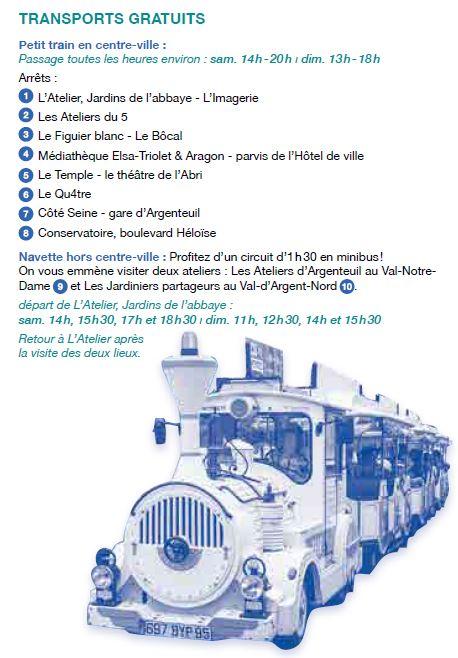 Circuit Petit train Argenteuil