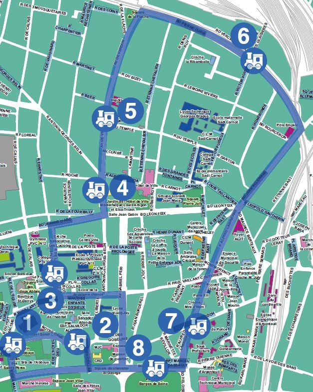 Circuit de train - Argenteuil Mai des Artistes