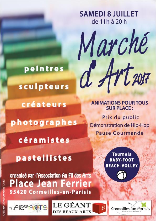 MARCHE D'ART 2017 à Cormeilles-en-Parisis