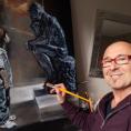 Alain Gonthier, le peintre d'Andilly, nous invite au musée à travers ses nouvelles toiles!