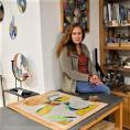 Un petit tour dans l'atelier de Suzie Molina… en attendant les prochaines expositions !