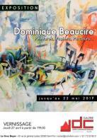 Exposition de Dominique Beaucire : peintures, papiers, parcours...