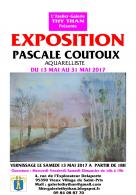 Exposition de l'aquarelliste Pascale Coutoux