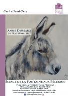 Exposition de peintures d'Anne Dussaux