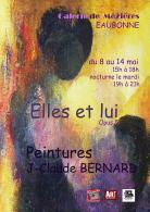 Exposition de peintures de Jean-Claude Bernard :