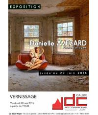 A Saint-Prix, les photo-collages de Danielle Avezard méritent le détour!