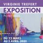 Exposition de peintures de Virginie Trefert