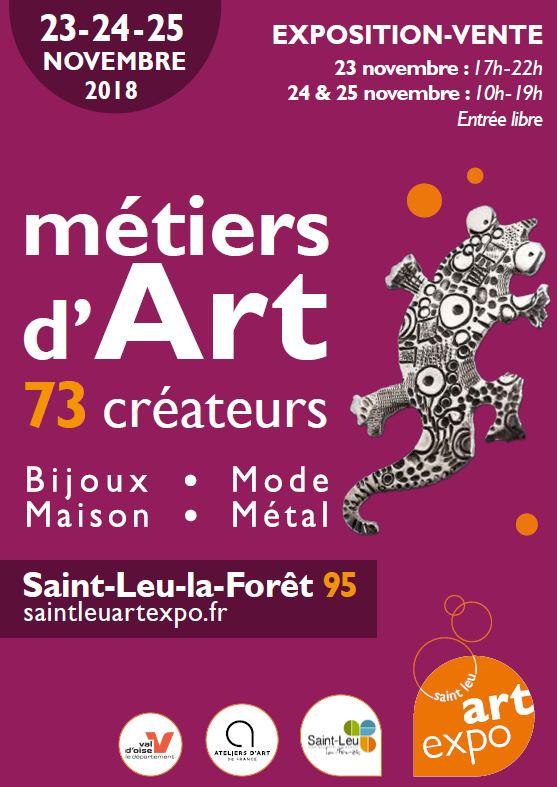 Métiers d'Art - Novembre 2018