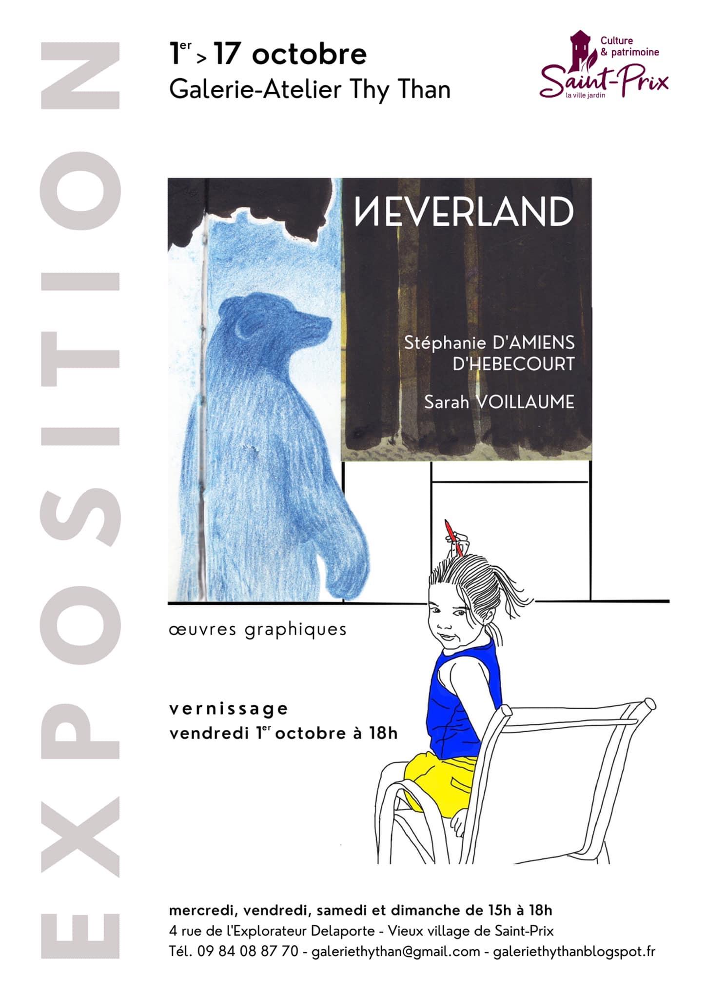 Exposition galerie Thy Than - 1er au 17 octobre 2021