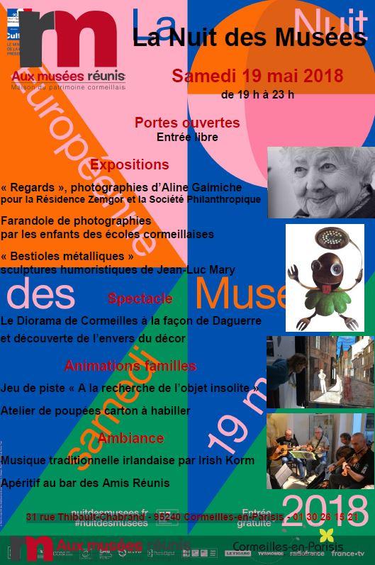 nuit des musées à Cormeilles-en-Parisis