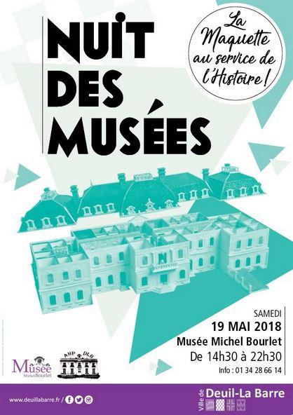 Nuit des musées à Deuil-la-Barre 2018