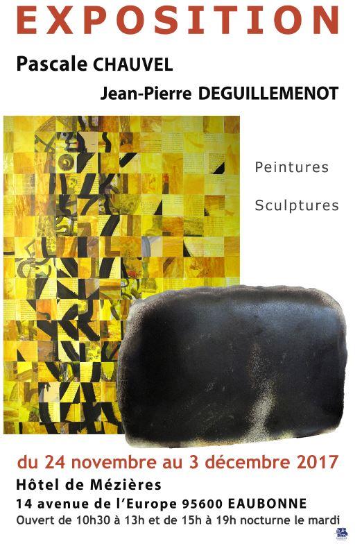 Exposition de Pascale Chauvel et Jean-Pierre Deguillemenot