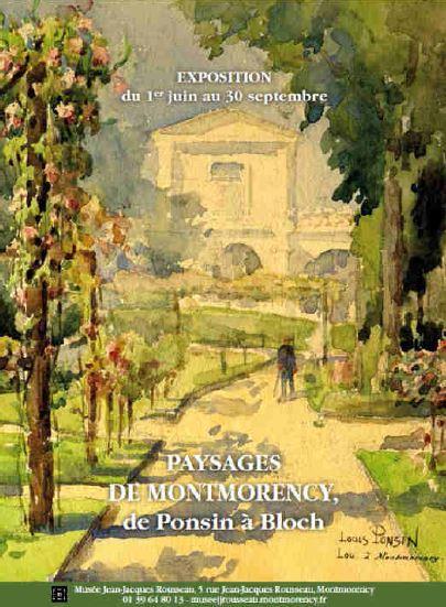 Exposition PAYSAGES DE MONTMORENCY de Ponsin à Bloch