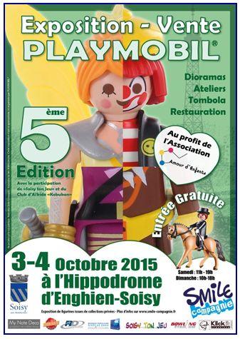 EXPOSITION PLAYMOBIL 2015 hippodrome Enghien