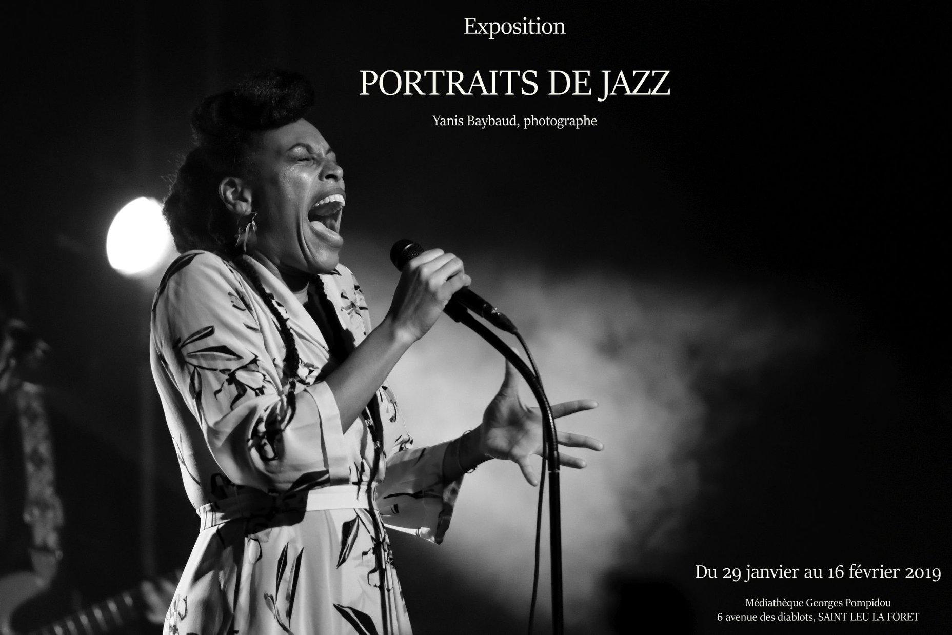 PORTRAITS DE JAZZ de Yanis Baybaud
