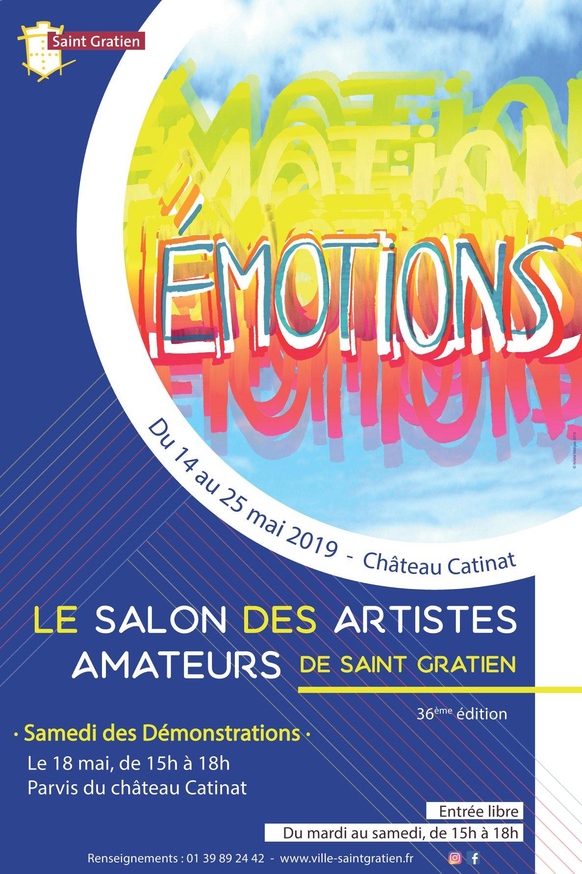 Salon des artistes amateurs 2019 Saint-Gratien