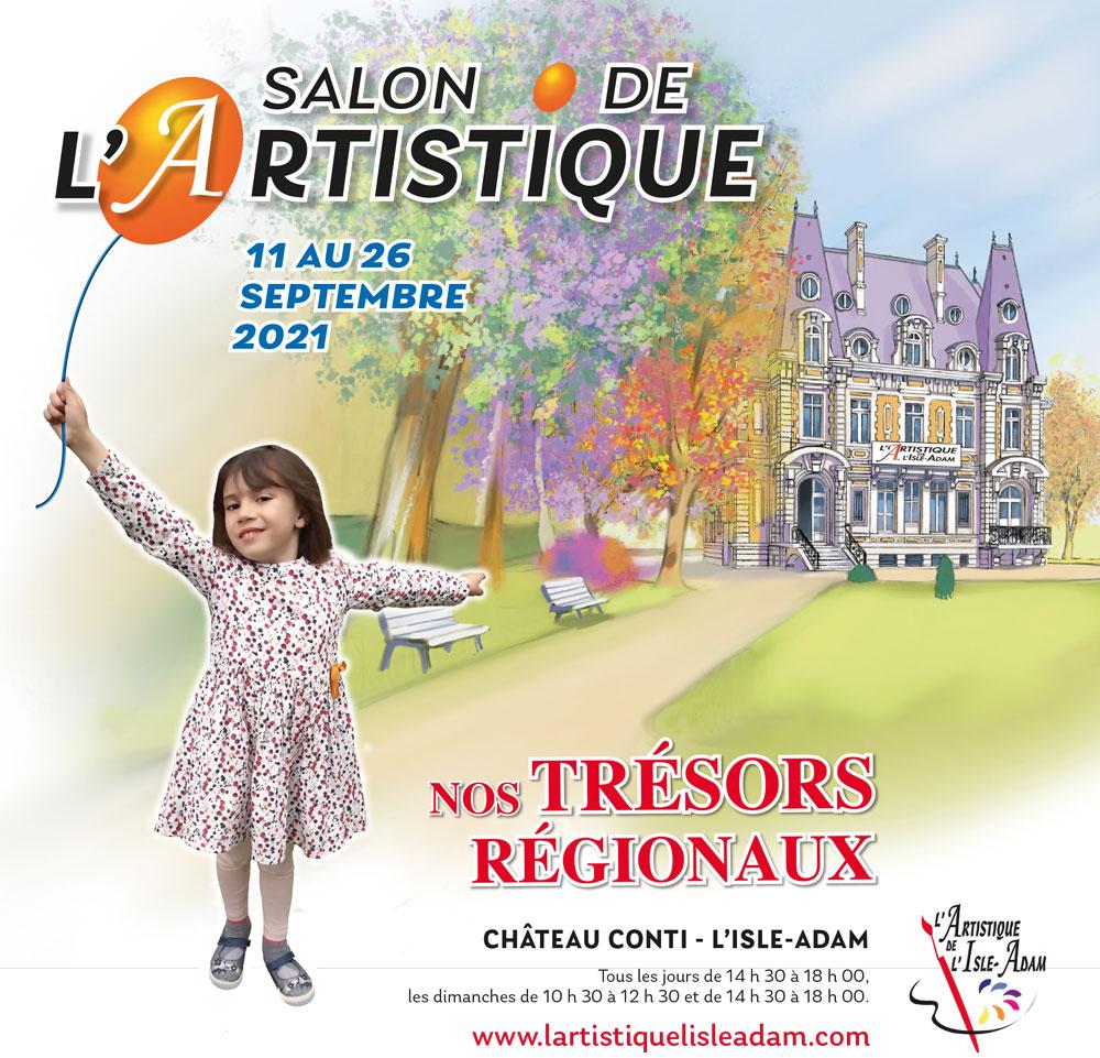 Salon de l'Artistique à L'Isle-Adam - septembre 2021