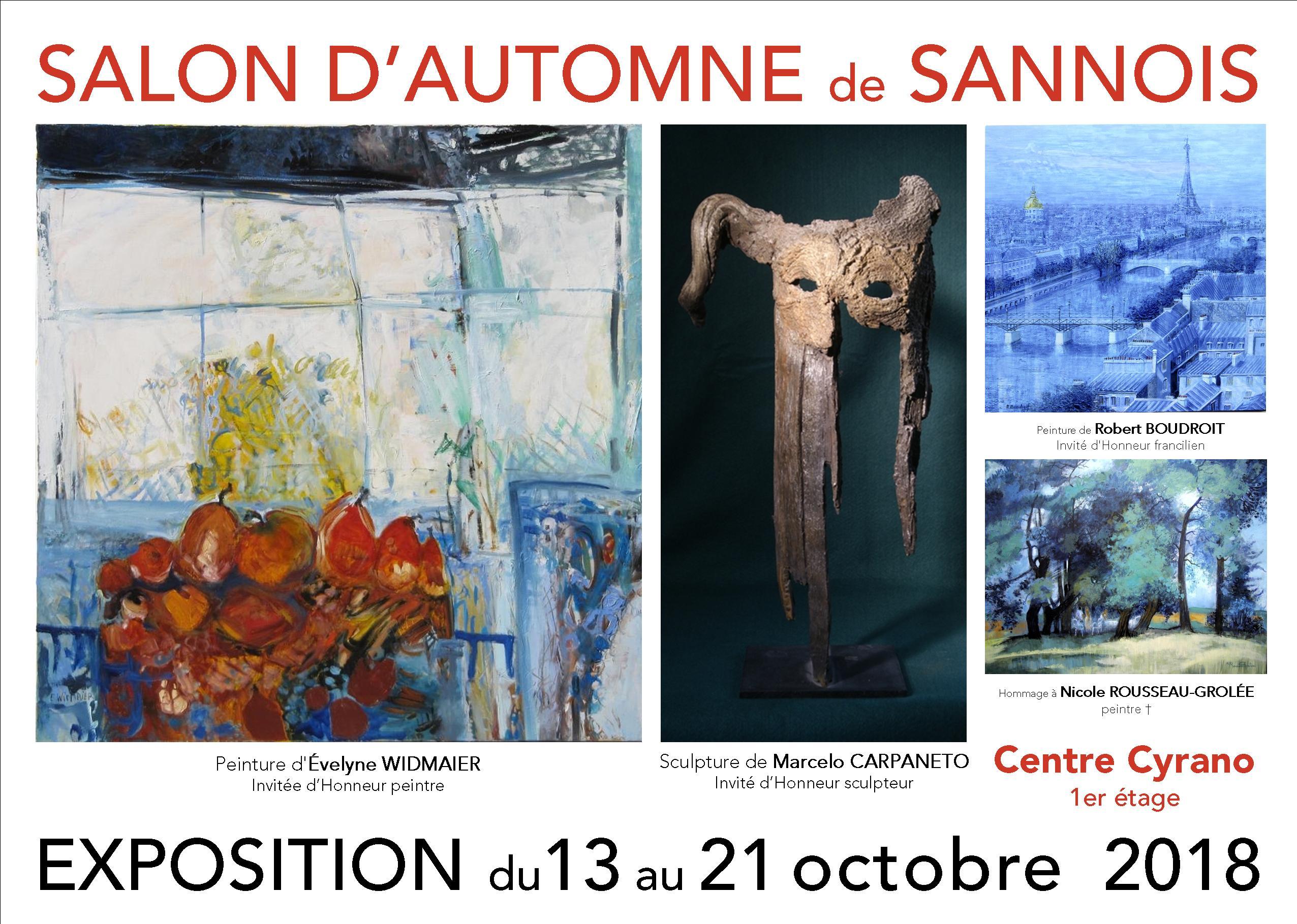 Salon d'automne de Sannois 2018
