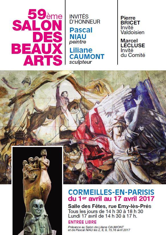 59ème SALON DES BEAUX ARTS de CORMEILLES EN PARISIS