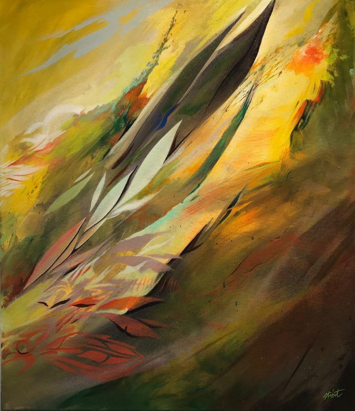 Oeuvre du peintre Strait