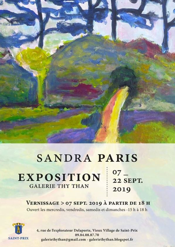 Exposition de Sandra Paris