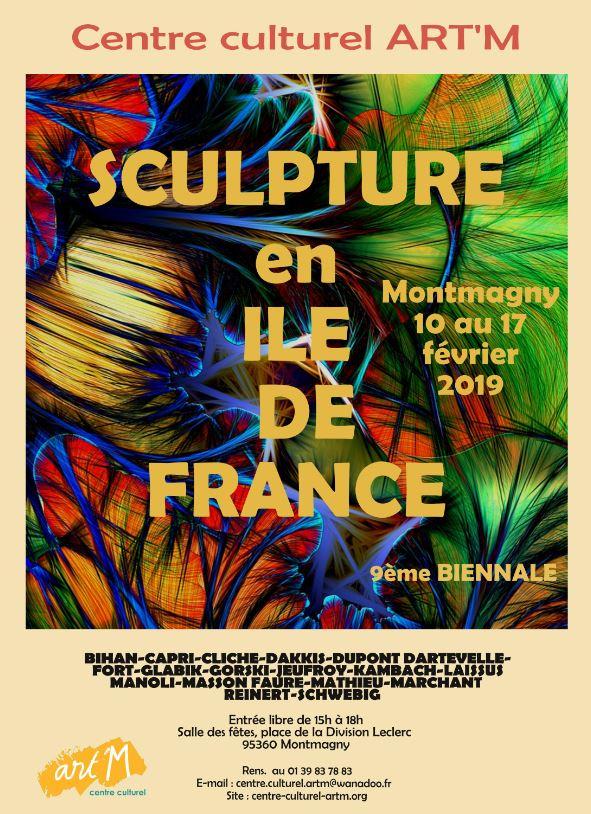 Sculpture en Ile-de-France- Montmagny 2019