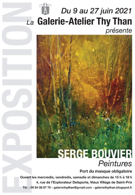 Exposition de Serge Bouvier