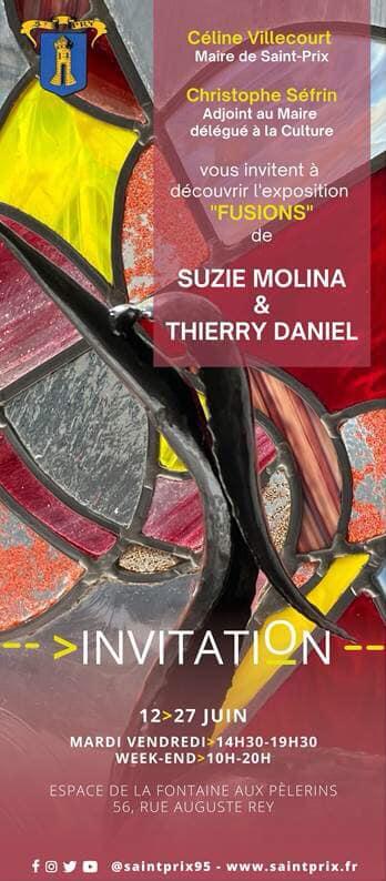 Exposition Suzie Molina et Thierry Daniel