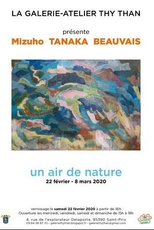 Exposition de Mizuho Tanaka Beauvais